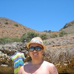 Enjoying the beach at Moku Nui