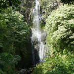 Waterfall on the Hana road