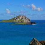 View of Rabbit Island