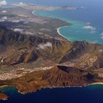 Overhead view of Koko Head