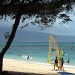 Windsurfing at kanaha