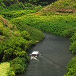 Cruise Down the Wailua River on Boat