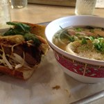 Smoked Bacon Pho & French Dip Pho Sandwich