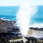 Halona Blowhole on Oahu, Hawaii.
