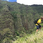 When the mountains are calling it is best to answer. Ridge hikes in the wide open back country with sun on your back and wind in your face. This is what Hawaii is all about.