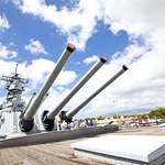 Guns of the USS Battleship Missouri