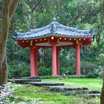 Meditation pavillon