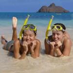 Snorkeling in Kailua