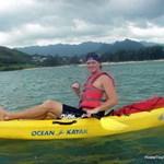 kayaking in lanikai