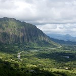 scenic view from Pali lookout