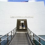 Entrance gate of the USS Arizona memorial
