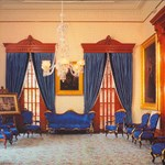 Blue room, Iolani Palace