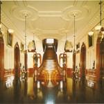 Grand stairway, Iolani Palace