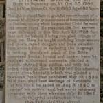 Memorial for Hiram Bingham, Kawaiahao Church