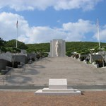 Entrance of the National Cemetery of the pacific