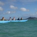 Kailua Canoe Club practice
