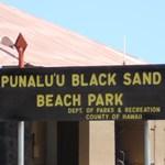 Punalu'u Beach Park