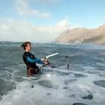 beginner kite surf lesson