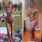 My transformation.