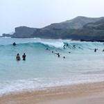 Sandy Beach surf