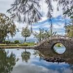 Liliuokalani Gardens in Hilo, Hawaii
