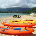 Kayaks, canoes, glass bottom boat rides, stand up paddle anyone?