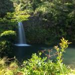 Maui Waterfall on Hana Tour