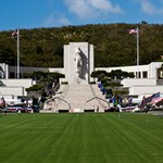 site of final resting place for veterans of both World Wars